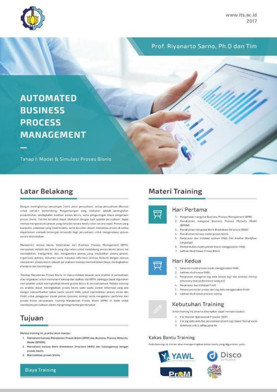 Tahap 1 - Model dan Simulasi Proses Bisnis